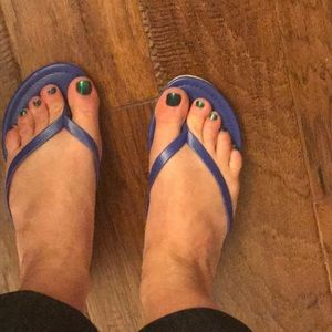 Dolce vita blue sandals size 6 worn once